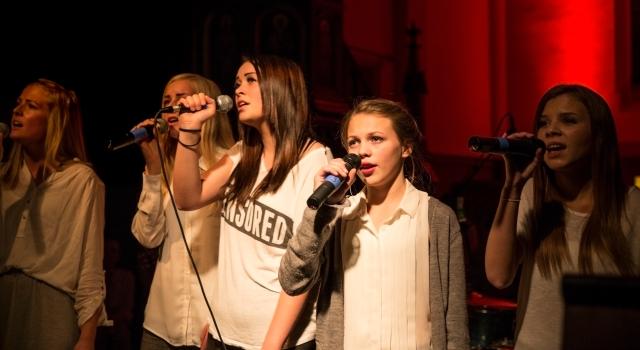 Solister fra KORissas Ungdomskor  foto: Aksel Wikant
